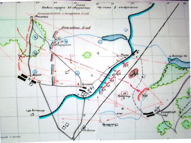 Przejście wojsk radzieckich – Bukowo 24-02-1945